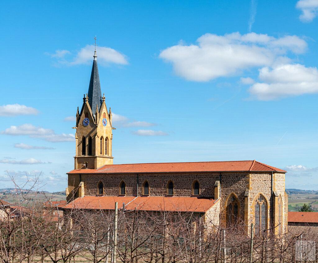 Eglise de Saint-Romain-de-Popey