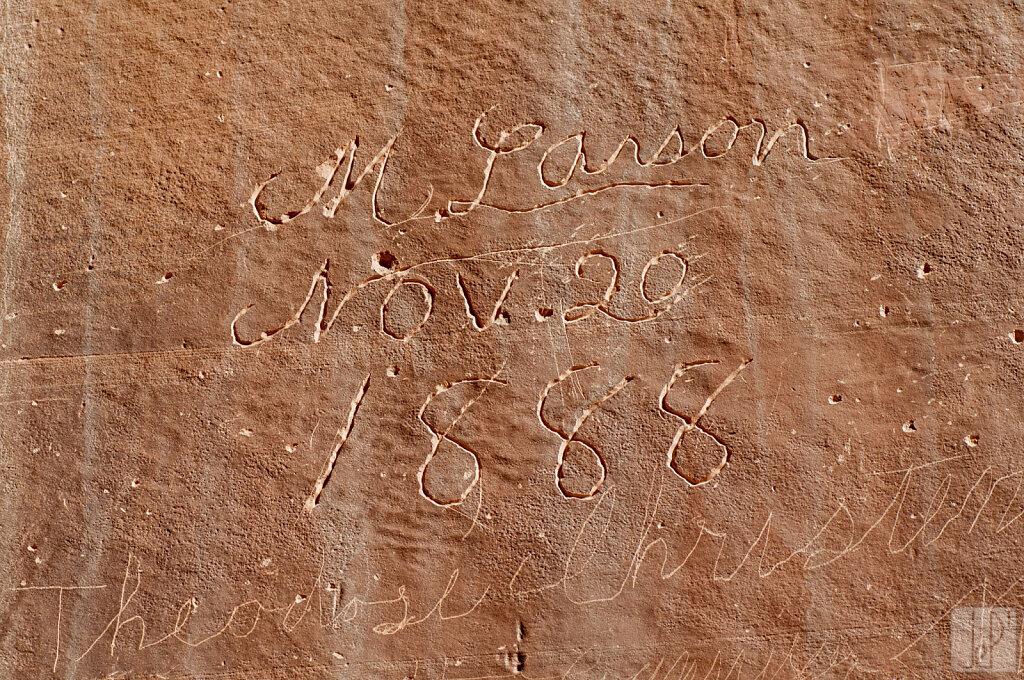 M Larson Nov. 20 1888