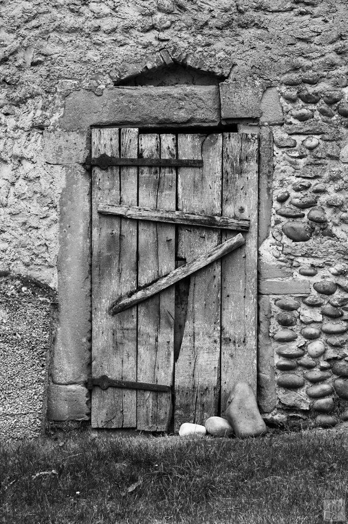 Porte et galets